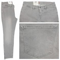 MAC Dream Summer Jeans silver grey