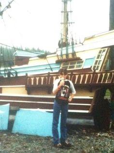 A young Acadian in Nova Scotia.