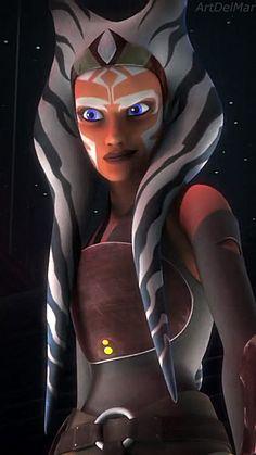 No one's ever really gone — itsahsoka: at-ahsokatano: She's amazing . Star Wars Jedi, Star Wars Rebels, Star Trek, Star Wars Clones, Star Citizen, Asoka Tano, Star Wars Canon, Star Wars Wallpaper, Star Wars Fan Art
