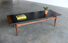 Vintage Mid Century Modern Coffee Table by CoMod on Etsy