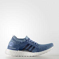 69da81980f5 Ultraboost X Parley Shoes Core Blue 8.5 Womens. Adidas ...