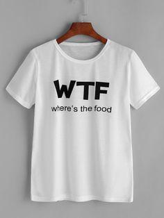 Shirt imprimé lettres