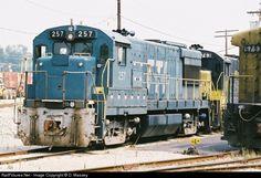 RailPictures.Net Photo: TTI 257 Transkentucky Transportation Railroad GE U28B at Paris, Kentucky by D. Massey