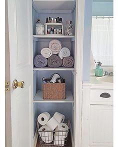 Setorizar é separar um andar do armário para cada item do banheiro , cabelo , unhas , pele , toalhas , higiene etc ...