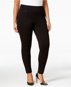 JAG Plus Size Ricki Pull-On Leggings *** Continue to the product at the image link.