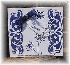 card with the header dies Hand Made Greeting Cards, Making Greeting Cards, Greeting Cards Handmade, Card Making Inspiration, Making Ideas, Tonic Cards, Crafters Companion Cards, Tattered Lace Cards, Studio Cards
