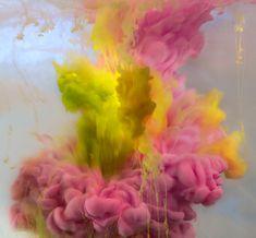 Incredibili liquidi colorati by Kim Keever