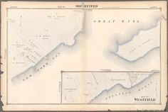 Part of Southfield. [Section Staten Island Staten Island New York, New York City Map, New York Public Library, Public Domain, Maps, Blue Prints, Map