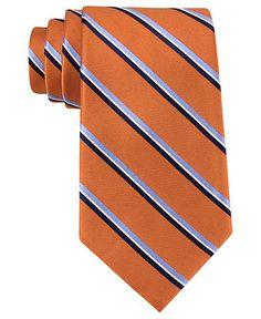 Tommy Hilfiger Tie, Buffalo Stripe - Mens Ties - Macy's