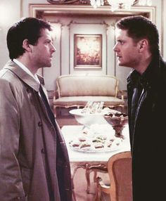 "Castiel and Dean Season 4 Lucifer Rising ""There is a right and there is a wrong here, and you know it..."""