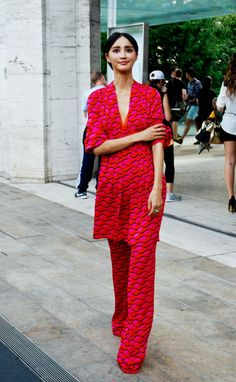 Fashion-Week-Street-Style-SS14-Vintage-Vault-3