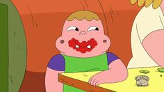 pictures of clarence cartoon network   Clarence/Adventure Time Mashup