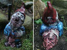 The Walking Dead - Garden Gnomes   Zumbi Garden Gnomes   Dead Gnomes           No último dia 23/10 com a apresentação simultânea da 7...