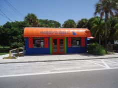 Formally Swells restaurant now Harry's on Gulf Drive in Anna Maria