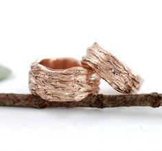 Beth Cyr Wedding Rings - Recycled Gold, Organic Metal