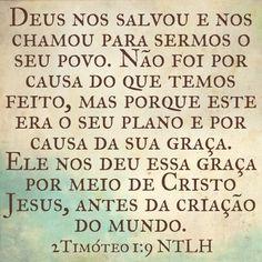 2Timóteo 1.9 NTLH