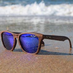 Wood grain sunglasses new