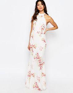 b3944265e5 Image 1 of Jarlo Caden High Neck Maxi Dress Best Prom Dresses
