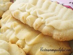 MELTING MOMENTS BISCUITS A LA PRESSE A BISCUITS