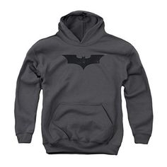 Batman Begins Logo Youth Pull Over Hoodie