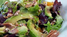 Avocado Mandarin Tossed Salad