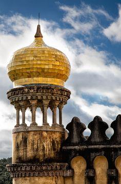 Palacio da Pena, Portugal                                   #Sintra #cúpula  (via 500px / Qubbat by Fotoaguado)