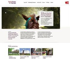 Corporate website Twents Bureau voor Toerisme