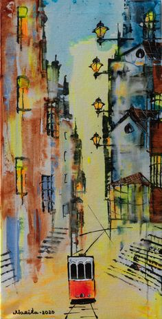 Lisbon, Original Art, Elephant, Paintings, The Originals, Canvas, Gallery, Artist, Frames
