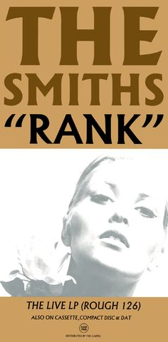 The Smiths Promo Poster Collection: Rank