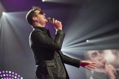 Robin Thicke onstage during the iHeartRadio Music Festival at the MGM Grand Garden Arena on September 20, 2013 in Las Vegas, Nevada. (Todd Owyoung for iHeartRadio)