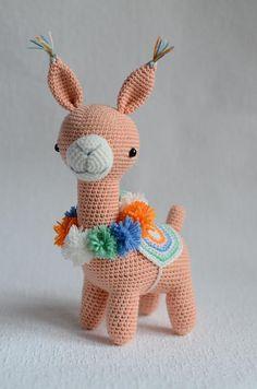 Flamingo Toy, Crochet Flamingo, Flamingo Gifts, Deer Stuffed Animal, Handmade Stuffed Animals, Alpaca Toy, Alpaca Animal, Llama Llama, Crochet Rabbit