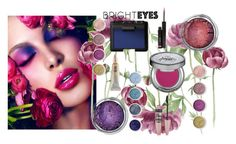 """Bright Peonies"" by kemp-jessica ❤ liked on Polyvore featuring beauty, Terre Mère, Urban Decay, NARS Cosmetics, shu uemura, Maybelline and brighteyes"