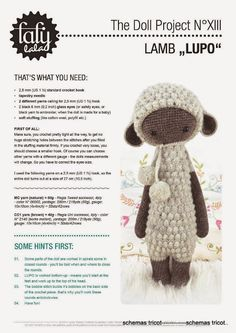 LalyLala - The Doll Project No XIII - Lupo the Lamb