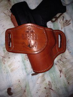 U.S.N leather holster