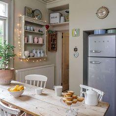 Casinha colorida: Cozinhas para elas