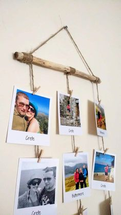 Photo or Message Driftwood Board / Polaroid Display / Photo Holder / Photo Wall Hanging Photo or Message Driftwood Board / Polaroid Display / Fotohalter Polaroid Pictures Display, Polaroid Display, Polaroid Wall, Polaroid Ideas, Polaroid Cameras, Display Photos, Polaroids, Display Ideas, Photo Wall Hanging