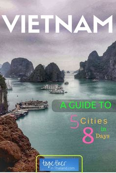 Vietnam Travel Itinerary: If you want to visit Ho Chi Minh City, Hanoi, Ha Long Bay, Da Nang, and Hoi An, this is the perfect guide for you. See all these places and do amazing activities like the Ha Long Bay cruise all in just over a week! Visit the post for all the details of where to stay and a full itinerary. https://togethertowherever.com/vietnam-trip-nutshell/