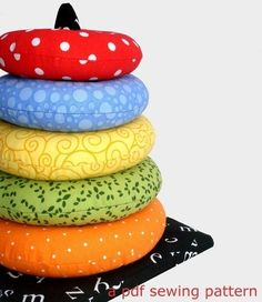 Ring Stacker Soft Toy, Immediate Download Of PDF Sewing Pattern