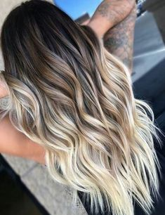 Balayage and ombre hair. Hair Color Ideas & Trends for Hairstyles hair ideas. Balayage and ombre hair. Hair Color Ideas & Trends for Stylish and attractive. Short Hairstyles For Thick Hair, Cool Hairstyles, Formal Hairstyles, Highlighted Hairstyles, Brown Hairstyles, Gorgeous Hairstyles, Fashion Hairstyles, Hairstyle Men, Everyday Hairstyles