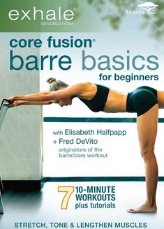 Quick results from a 10-minute beginner barre routine in the Core Fusion Barre Basics for Beginners workout DVD brought Karen out of her workout slump.