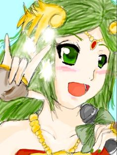 Palutena sings by KaoruAiChan on deviantART