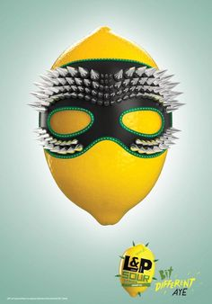 L&P Sour: Mask   Ads of the World™