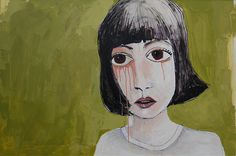 Regrets, 2011. Painting by Vane Kosturanov.