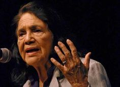 """""""Giving kids clothes and food is one thing but it's much more important to teach them that other people besides themselves are important, and that the best thing they can do with their lives is to use them in the service of other people.""""       ~Dolores Huerta (1930), labor leader and civil rights activist who, along with César Chávez, co-founded the National Farmworkers Association, which later became the United Farm Workers"""
