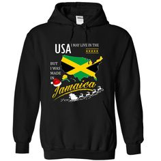 (Deal Tshirt 3hour) I May Live in the United States But I Was Made in Jamaica Christmas Tees at Sunday Tshirt Hoodies, Funny Tee Shirts