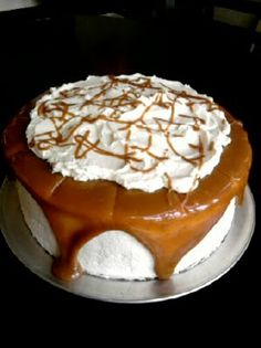 Food For Thought: Creme Caramel Cake