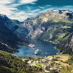 Fjord, Norway is a famous adventure travel destination with focus on sustainability. Have you ever been to Norway?