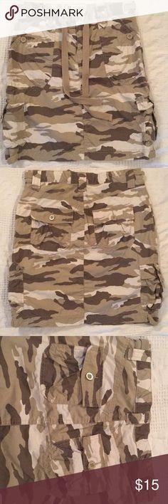 Camo skirt 19 inches  Cargo GAP Skirts
