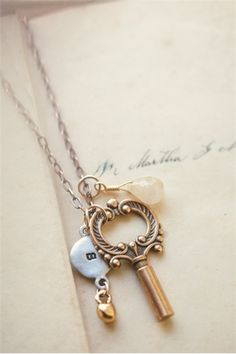 memory keeper necklace by Lisa Leonard