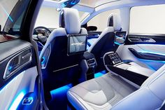 2015 Ford Edge Concept the lights in the doors would be awesome but I don't need all the screens!